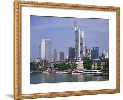 City Skyline, Frankfurt Am Main, Germany-Roy Rainford-Framed Photographic Print