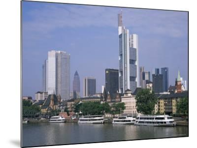 City Skyline, Frankfurt Am Main, Germany-Roy Rainford-Mounted Photographic Print