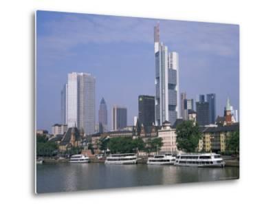 City Skyline, Frankfurt Am Main, Germany-Roy Rainford-Metal Print