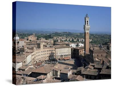 Siena, Unesco World Heritage Site, Tuscany, Italy-Roy Rainford-Stretched Canvas Print
