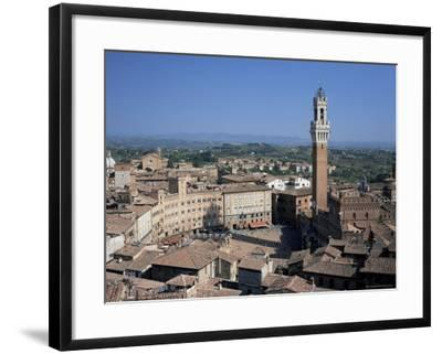 Siena, Unesco World Heritage Site, Tuscany, Italy-Roy Rainford-Framed Photographic Print