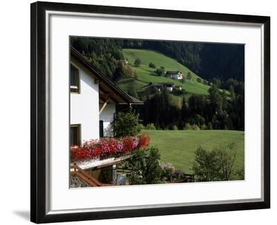 Val Di Funes, Trentino-Alto Adige, Dolomites, South Tirol, Italy-Roy Rainford-Framed Photographic Print