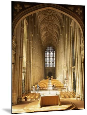 Interior, Canterbury Cathedral, Unesco World Heritage Site, Kent, England, United Kingdom-Roy Rainford-Mounted Photographic Print