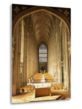 Interior, Canterbury Cathedral, Unesco World Heritage Site, Kent, England, United Kingdom-Roy Rainford-Metal Print
