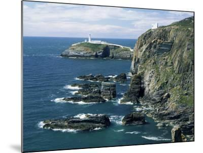 South Stack Lighthouse, Isle of Anglesey, Wales, United Kingdom-Roy Rainford-Mounted Photographic Print