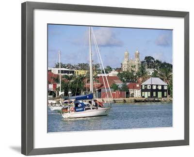 St. John's, Antigua, Leeward Islands, West Indies, Caribbean, Central America-John Miller-Framed Photographic Print