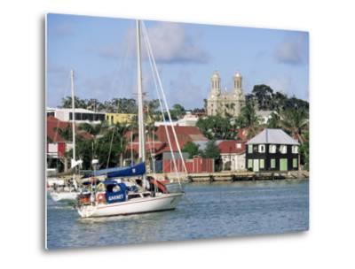 St. John's, Antigua, Leeward Islands, West Indies, Caribbean, Central America-John Miller-Metal Print