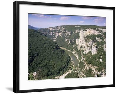Ardeche Gorges, Languedoc Roussillon, France-John Miller-Framed Photographic Print