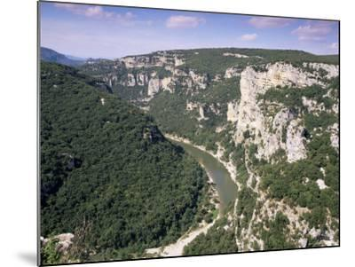 Ardeche Gorges, Languedoc Roussillon, France-John Miller-Mounted Photographic Print
