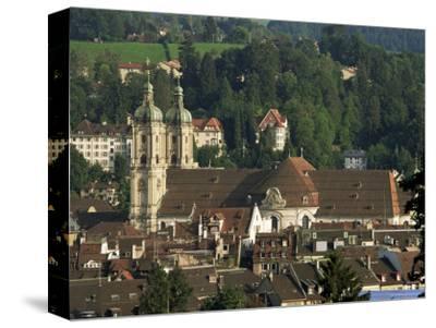 Abbey, St. Gallen, Switzerland-John Miller-Stretched Canvas Print
