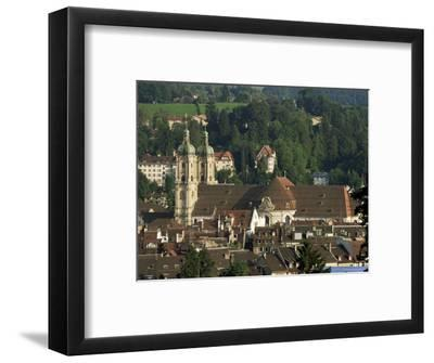 Abbey, St. Gallen, Switzerland-John Miller-Framed Photographic Print
