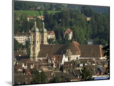 Abbey, St. Gallen, Switzerland-John Miller-Mounted Photographic Print