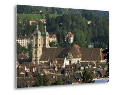 Abbey, St. Gallen, Switzerland-John Miller-Metal Print