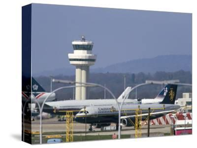 Gatwick Airport, Sussex, England, United Kingdom-John Miller-Stretched Canvas Print