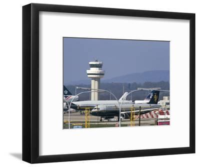 Gatwick Airport, Sussex, England, United Kingdom-John Miller-Framed Photographic Print