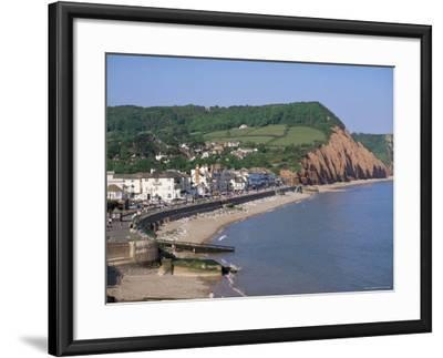 Sidmouth, Devon, England, United Kingdom-John Miller-Framed Photographic Print