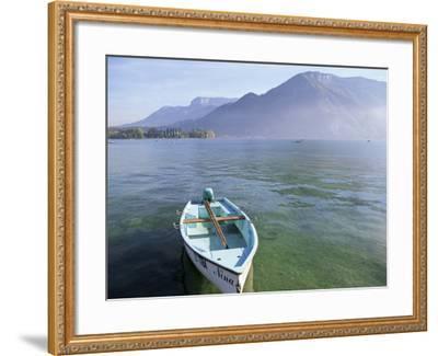 Lake Annecy, Rhone Alpes, France-John Miller-Framed Photographic Print