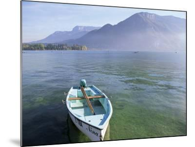 Lake Annecy, Rhone Alpes, France-John Miller-Mounted Photographic Print