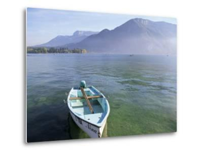 Lake Annecy, Rhone Alpes, France-John Miller-Metal Print