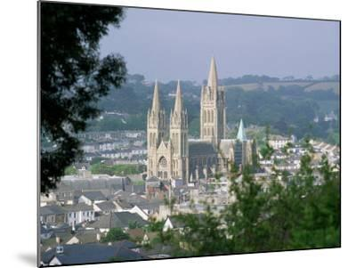 Truro Cathedral and City, Cornwall, England, United Kingdom-John Miller-Mounted Photographic Print