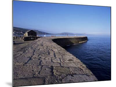 The Cobb, Lyme Regis, Dorset, England, United Kingdom-John Miller-Mounted Photographic Print