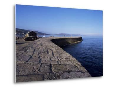 The Cobb, Lyme Regis, Dorset, England, United Kingdom-John Miller-Metal Print