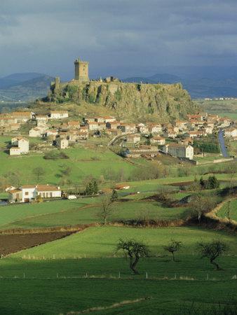 Le Puy, Puy De Dome, Auvergne, France-Michael Short-Framed Photographic Print