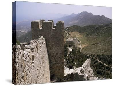 St. Hilarion Castle, North Cyprus, Cyprus-Michael Short-Stretched Canvas Print