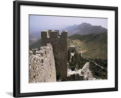 St. Hilarion Castle, North Cyprus, Cyprus-Michael Short-Framed Photographic Print