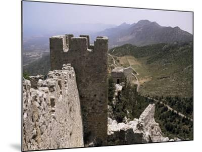 St. Hilarion Castle, North Cyprus, Cyprus-Michael Short-Mounted Photographic Print