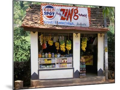 Village Shop, Hindu Ponda, Goa, India-Michael Short-Mounted Photographic Print