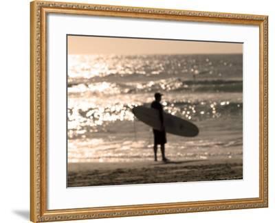 Bondi Beach, Sydney, New South Wales, Australia-Mark Mawson-Framed Photographic Print