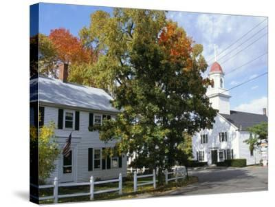 Kennebunkport, Maine, New England, USA-Fraser Hall-Stretched Canvas Print