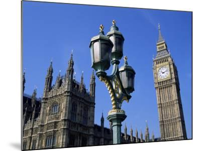 Big Ben and the Houses of Parliament, Unesco World Heritage Site, Westminster, London, England-Fraser Hall-Mounted Photographic Print