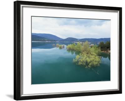 Embalse De Yesa, Aragon, Spain-Graham Lawrence-Framed Photographic Print