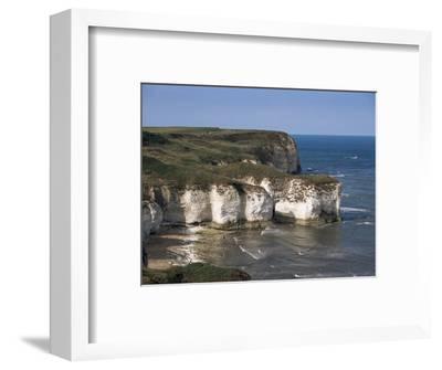 Flamborough Head, East Yorkshire, Yorkshire, England, United Kingdom-David Hunter-Framed Photographic Print