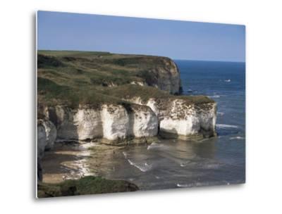 Flamborough Head, East Yorkshire, Yorkshire, England, United Kingdom-David Hunter-Metal Print
