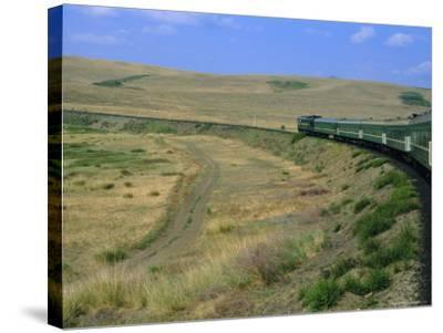 Trans-Siberian Express, Siberia, Russia-Bruno Morandi-Stretched Canvas Print