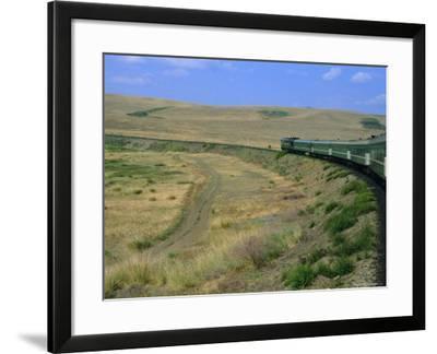 Trans-Siberian Express, Siberia, Russia-Bruno Morandi-Framed Photographic Print