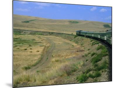 Trans-Siberian Express, Siberia, Russia-Bruno Morandi-Mounted Photographic Print