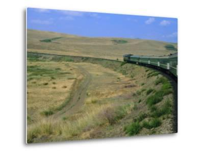 Trans-Siberian Express, Siberia, Russia-Bruno Morandi-Metal Print