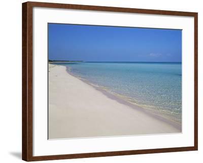 Cayo Coco, Cuba, West Indies, Central America-Bruno Morandi-Framed Photographic Print