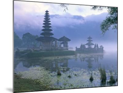 Pura Ulun Temple, Danu Bratan, Island of Bali, Indonesia, Southeast Asia-Bruno Morandi-Mounted Photographic Print
