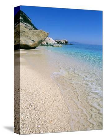 Cala Mariolu, Cala Gonone, Golfe Di Orosei (Orosei Gulf), Island of Sardinia, Italy-Bruno Morandi-Stretched Canvas Print