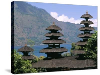 Mount Batur, Island of Bali, Indonesia, Southeast Asia-Bruno Morandi-Stretched Canvas Print