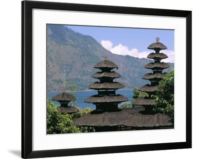Mount Batur, Island of Bali, Indonesia, Southeast Asia-Bruno Morandi-Framed Photographic Print