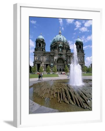 The Dom (Cathedral), Berlin, Germany-Bruno Morandi-Framed Photographic Print