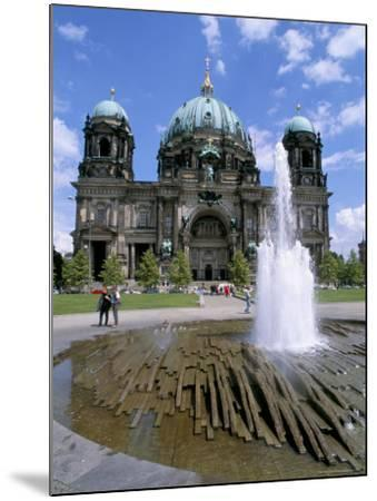 The Dom (Cathedral), Berlin, Germany-Bruno Morandi-Mounted Photographic Print