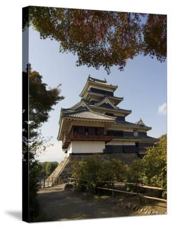 Matsumoto Castle, Nagano Prefecture, Kyoto, Japan-Christian Kober-Stretched Canvas Print