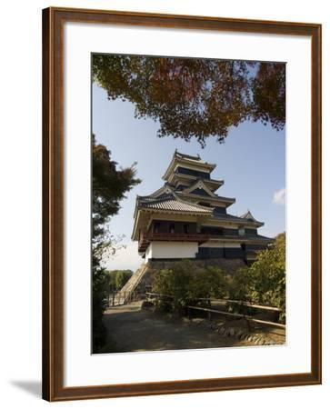 Matsumoto Castle, Nagano Prefecture, Kyoto, Japan-Christian Kober-Framed Photographic Print